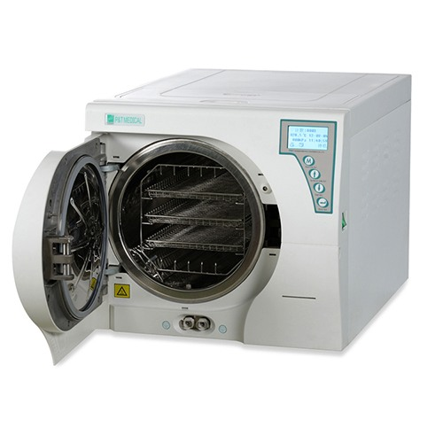 class b sterilizer steam autoclave for nail - Autoclave P&T - 17 LTR