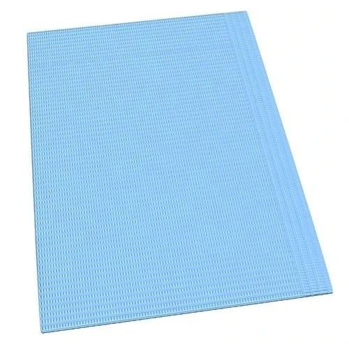 - Dental Bibs-(4 ply) 46cmx33cm Large-Blue- 500pcs/Box