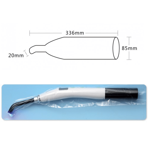 eeee - Curing Light Protection Sleeves - 500/pkt (336mm x 85mm)