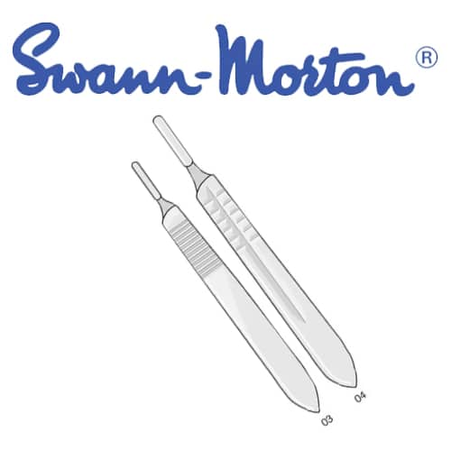 handle - Surgical Scalpel Blades Handle (Swann Morton) # 3  - Each