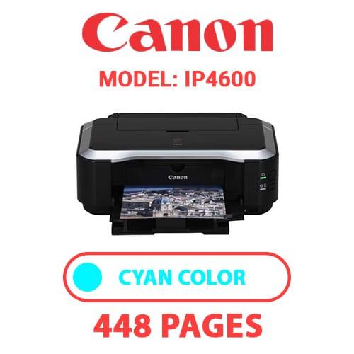 iP4600 2 - CANON iP4600 PRINTER - CYAN INK