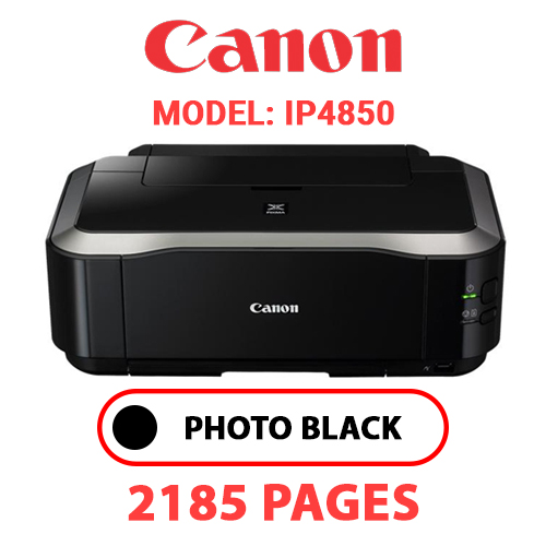 iP4850 1 - CANON iP4850 PRINTER - PHOTO BLACK INK