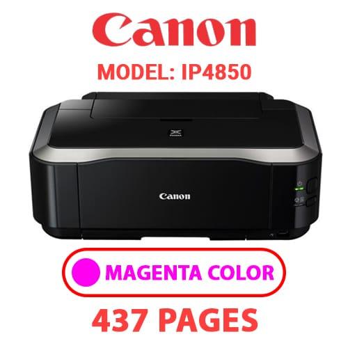 iP4850 3 - CANON iP4850 PRINTER - MAGENTA INK
