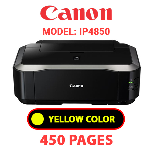 iP4850 4 - CANON iP4850 PRINTER - YELLOW INK