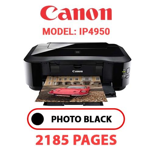 iP4950 1 - CANON iP4950 PRINTER - PHOTO BLACK INK