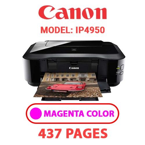 iP4950 3 - CANON iP4950 PRINTER - MAGENTA INK