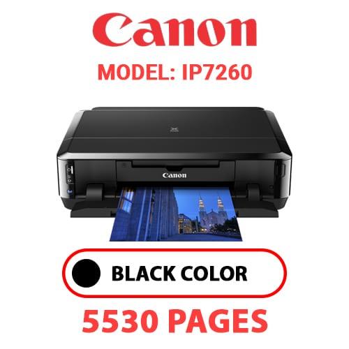 iP7260 1 - CANON iP7260 PRINTER - BLACK INK