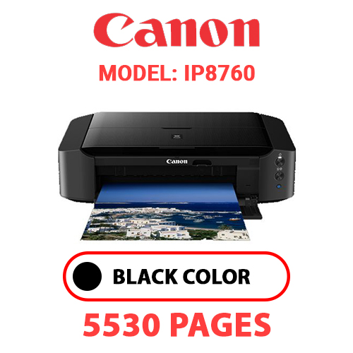 iP8760 1 - CANON iP8760 PRINTER - BLACK INK