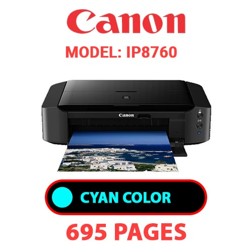 iP8760 2 - CANON iP8760 PRINTER - CYAN INK