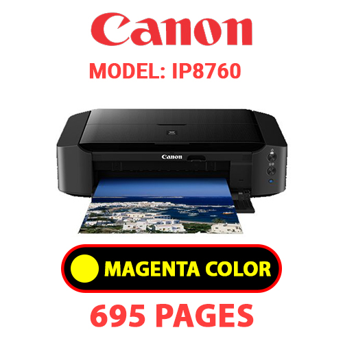 iP8760 4 - CANON iP8760 PRINTER - YELLOW INK