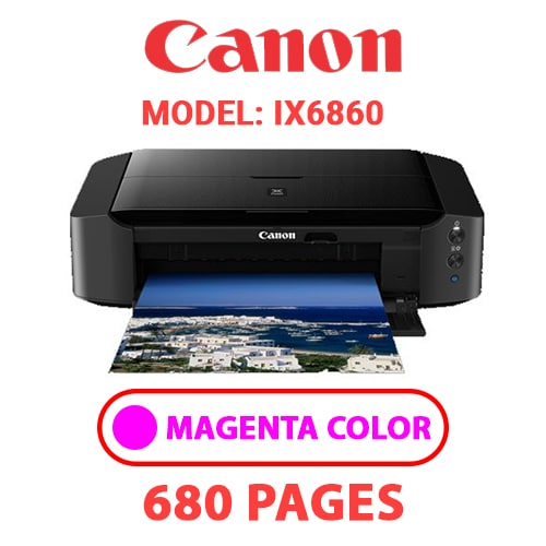 iX6860 3 - CANON iX6860 PRINTER - MAGENTA INK