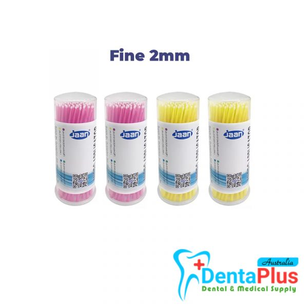 jaan - Micro Applicators - Fine (Pink+Yellow)(400/pkt)