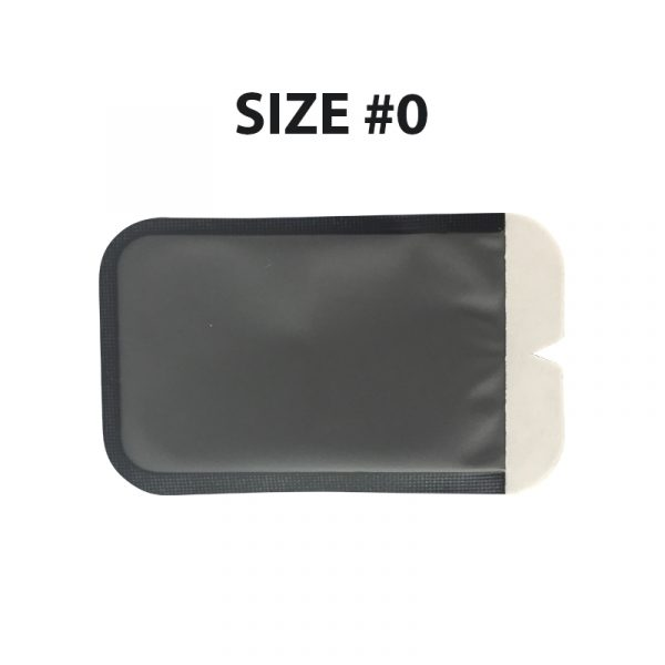 size 0 - X Ray PSP Barrier Envelopes –  (Top Opening / Top Tearing)Size #0