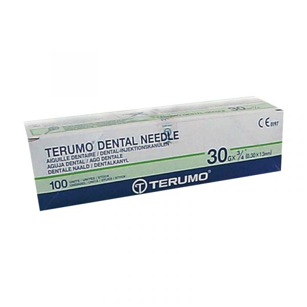 30 13 - Dental Needles Terumo - 30G x 13mm - 100pcs/box