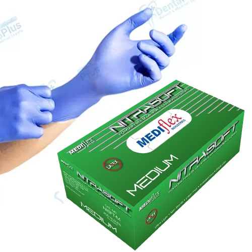 NITRASOFT Nitrile Powder Free Gloves