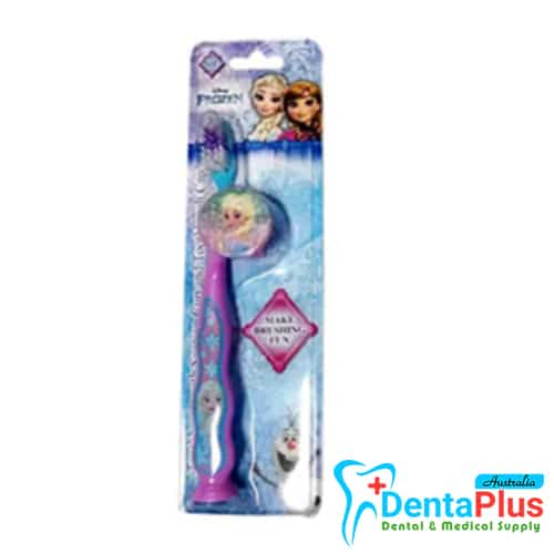Kids Toothbrush Characters with Suction Cup Frozen