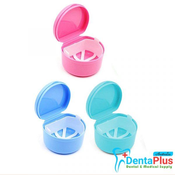1 - Denture Bath Case with Strainer Each