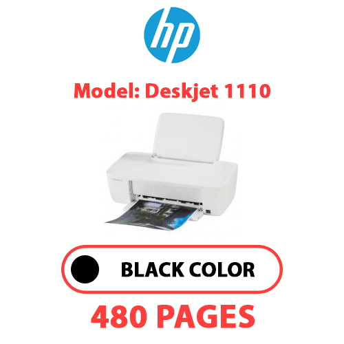 Deskjet 1110 - HP Deskjet_1110 - BLACK INK