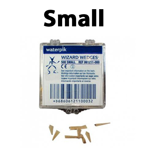 small - Wooden Wedges Interdental Small 500/box