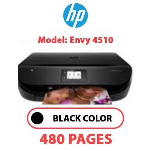Envy 4510 - HP ENVY 4510 - BLACK INK