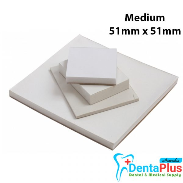 Mixing Pads Jaan Poly Coated Medium 51mm x 51mm - Mixing Pads (Ongard) Medium 51mm x 51mm - 50sheets/Pad