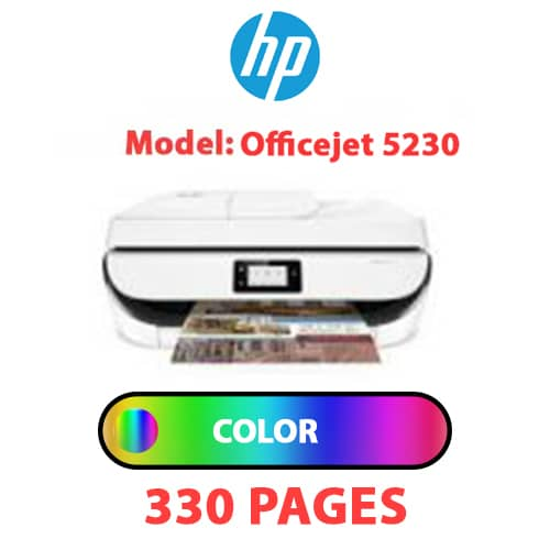 Officejet 5230 1 - HP Officejet 5230 - COLOR INK