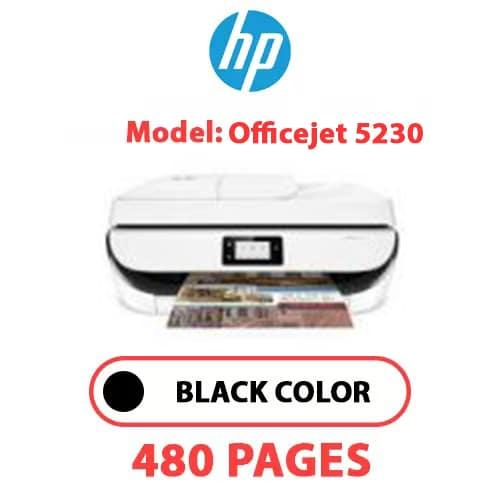 Officejet 5230 - HP Officejet 5230 - BLACK INK