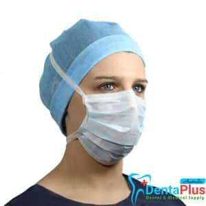 Medicom Latex free Sofskin Anti-Fog Tie-on Masks Blue Level 3